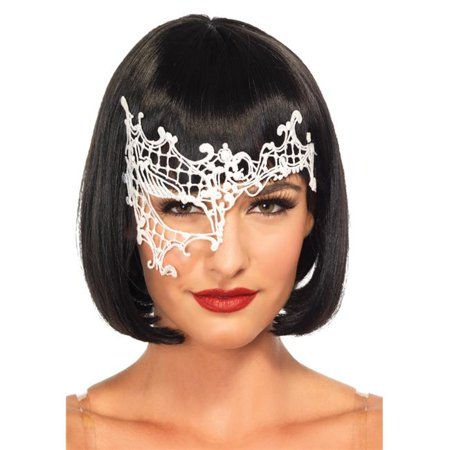 Morris Costumes UA3734WT Daring Venetian White Mask](White Mask For Sale)