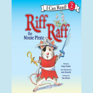 Riff Raff the Mouse Pirate - Audiobook