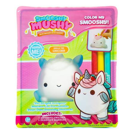 Smooshy Mushy Color Your Own Udelle Unicorn