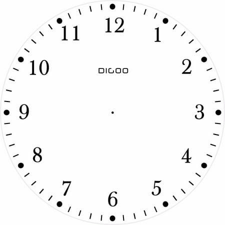 "4"" Retro Metal Twin Bell Alarm Clock Quartz Movement Night Light Battery - image 1 de 6"