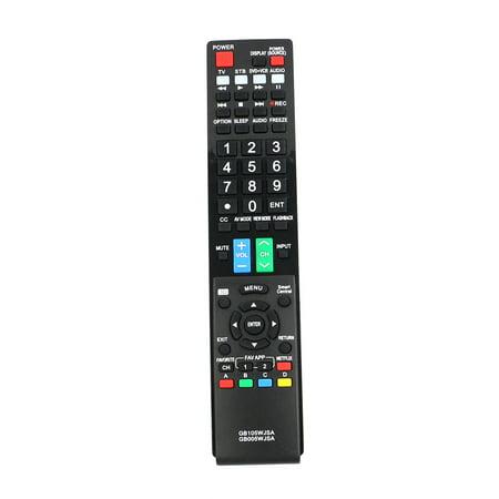 Aquos Lcd Hdtv (New RRMCGB005WJSA GB005WJSA RRMCGB105WJSA GB105WJSA Remote for Sharp AQUOS LCD LED HDTV LC-70UD1U LC70UD1U BD-AMS20 LC-60C7450 LC-60C7450U LC-60C8470U LC-60LE655U LC-60LE745U)