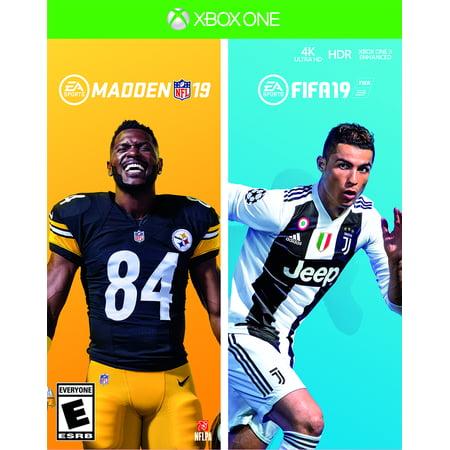 Ea Sports Fifa World Cup (FIFA 19 / Madden NFL 19 Bundle, EA Sports, Xbox One, 014633740684 )