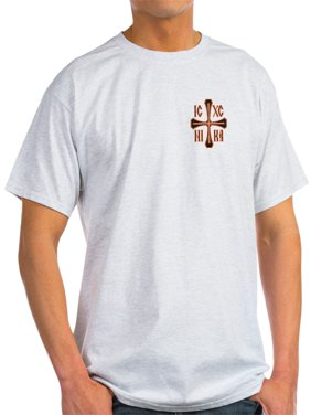 f5576a3d Product Image CafePress - Nika - Jesus Christ Conquers - Light T-Shirt - CP