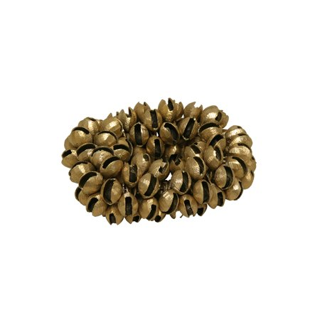 Clam Bells - Mid-East Plain Brass Clam Bells 100-Count