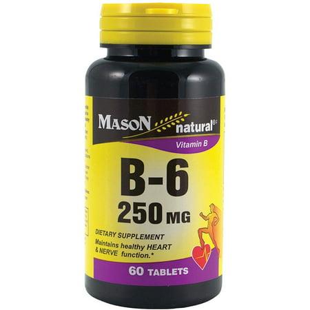 Mason Natural Vitamin B-6 250 mg Tablets 60 ea ()