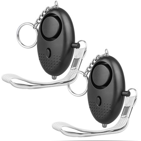 130dB Self Defense Keychain Alarm, Safesound Portable Security Alarm Whistle with LED Flashlight for Women Girls Night Workers](Led Flashlight Keychain)