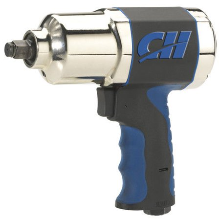 Campbell Hausfeld Air Impact Wrench, 1/2 Inch, with Comfort Grip (TL140200AV)
