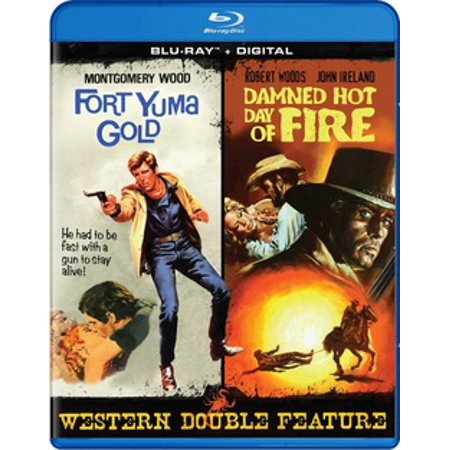 Fort Yuma Gold / Damned Hot Day of Fire (Blu-ray) (Best Of Yuma Asami)