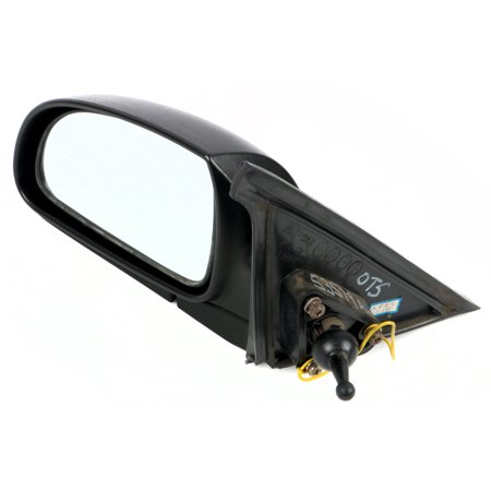 - 2000-02 Hyundai Accent Textured Lever Single Left Side View Mirror 8761025011CA