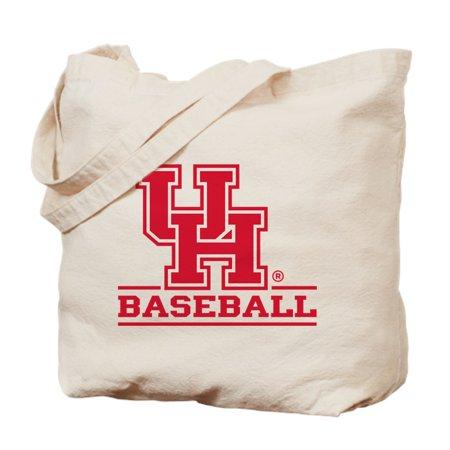 CafePress - Houston Cougar Baseball - Natural Canvas Tote Bag, Cloth Shopping Bag (Houston Cougars Baseball)