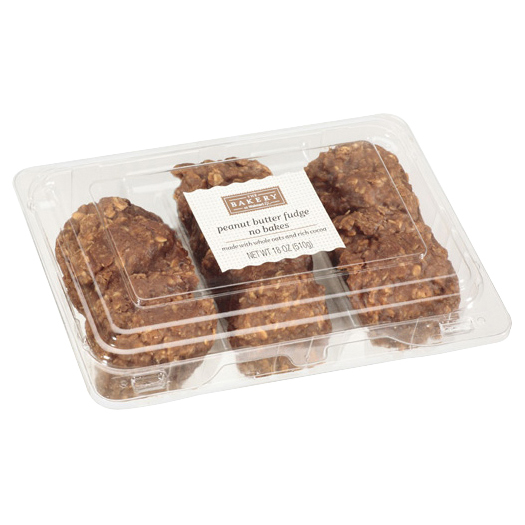 The Bakery at Walmart Peanut Butter Fudge No Bake Cookies 18 oz. Pack
