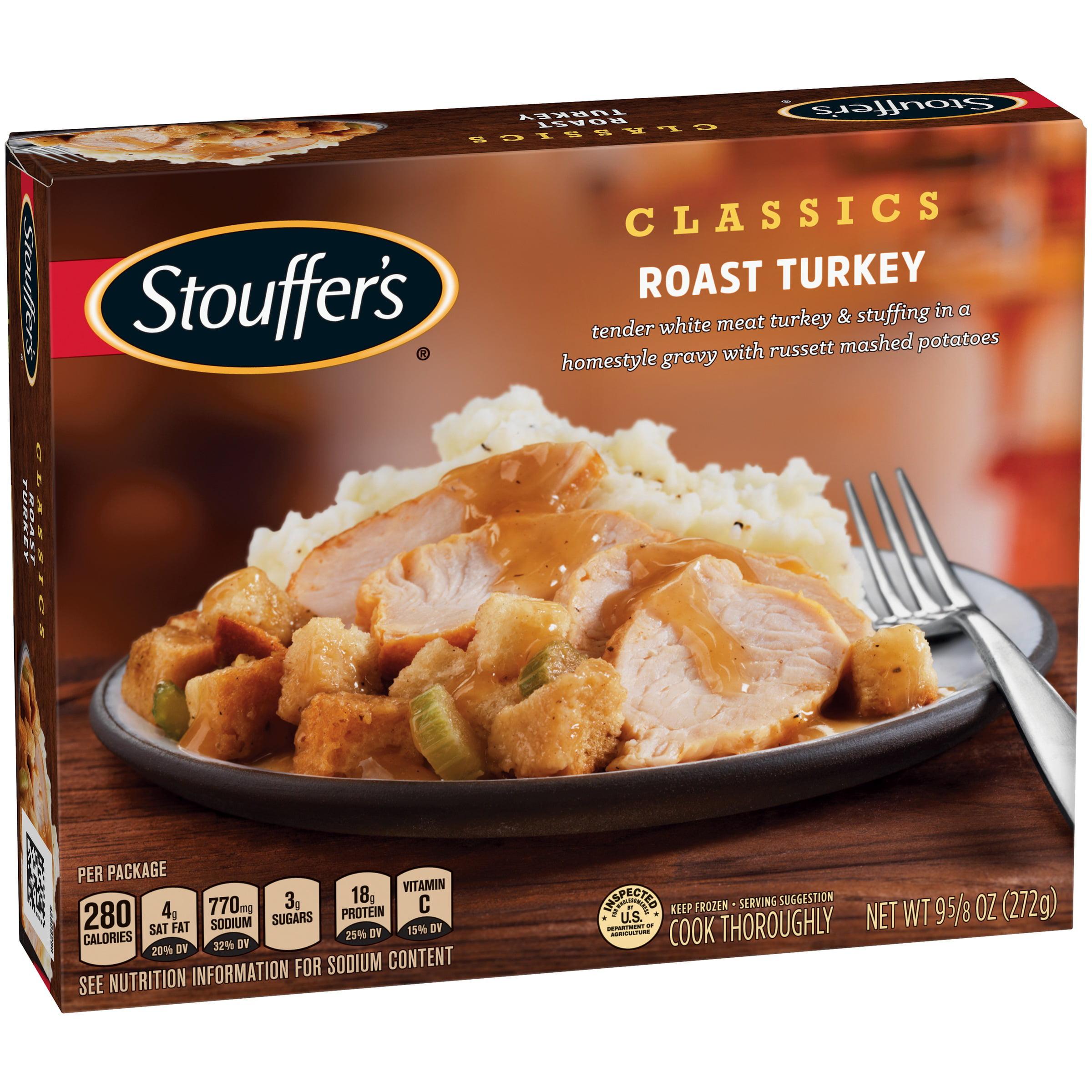 STOUFFER'S Classics Roast Turkey 9.625 oz Box