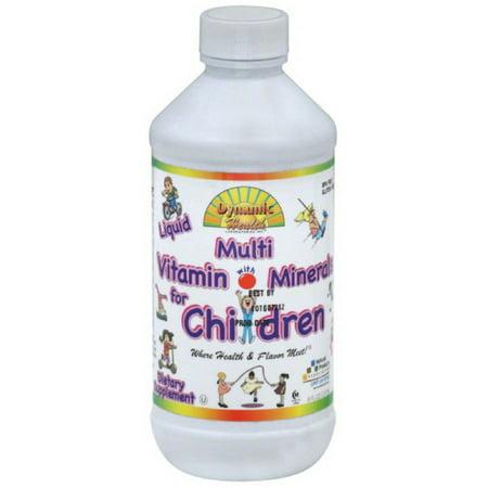 Dynamic Health Multi Vitamin, with Minerals, for Children, Liquid, 8 FL OZ