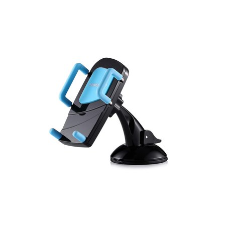 360 Degree Car Phone Holder Windshield Mount for iphone Samsung Cellphone GPS