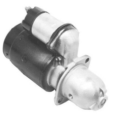 Starter - Delco Style (4243), Remanufactured, Delco Remy, 1108323, International, 104192A1
