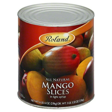 Roland Mango Slices In Light Syrup, 112.0 -