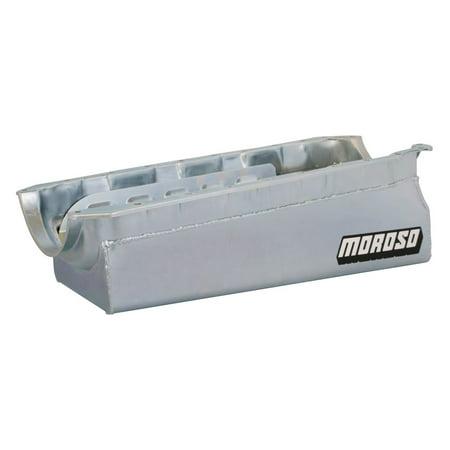 Stroker Short Block - Moroso Street/Strip Engine Oil Pan 7-3/4