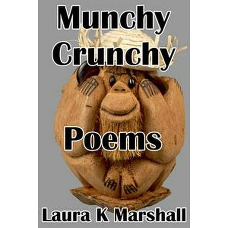 Munchy Crunchy Poems - eBook - Halloween Munchies