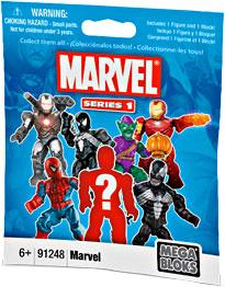 Mega Bloks Marvel Series 1 Minifigure Mystery Pack by
