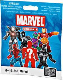 Mega Bloks Marvel Series 1 Minifigure Mystery Pack by Mega Brands