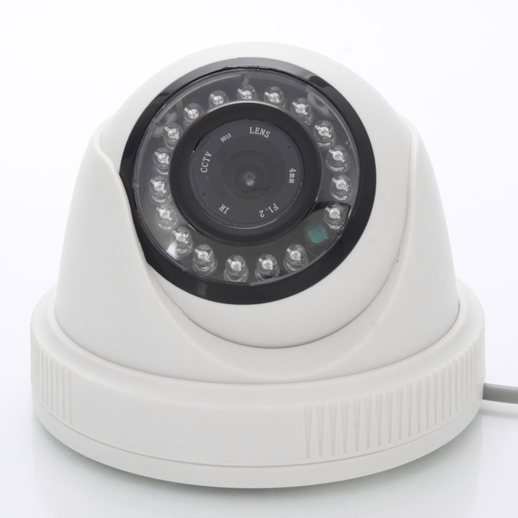 JND-538 Outdoor Waterproof 1000TVL CCTV Surveillance Camera Wireless Wifi Camera for Home Security IR Night Vision 720P IP Camera White