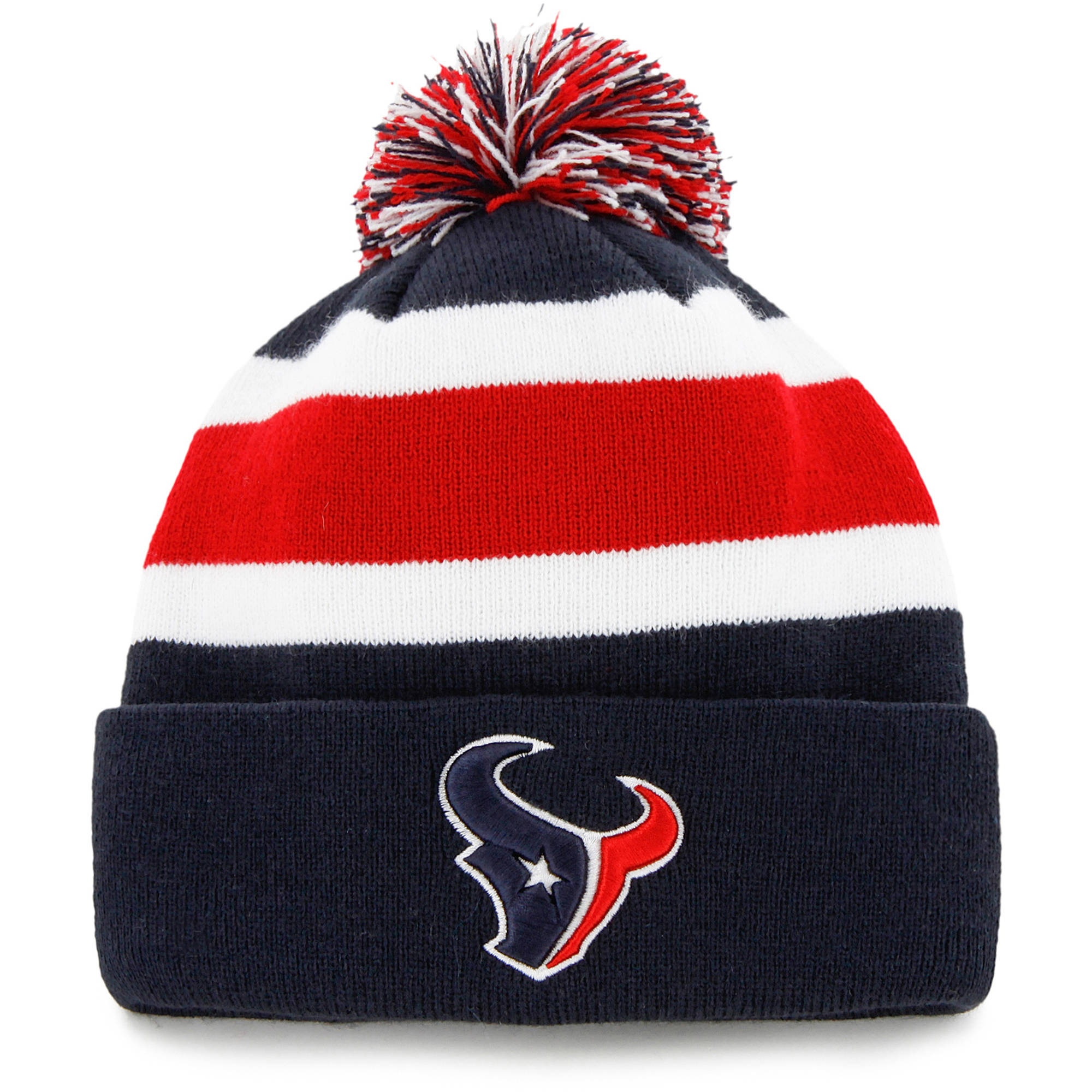 NFL Houston Texans Breakaway Knit Beanie with Pom by Fan Favorite