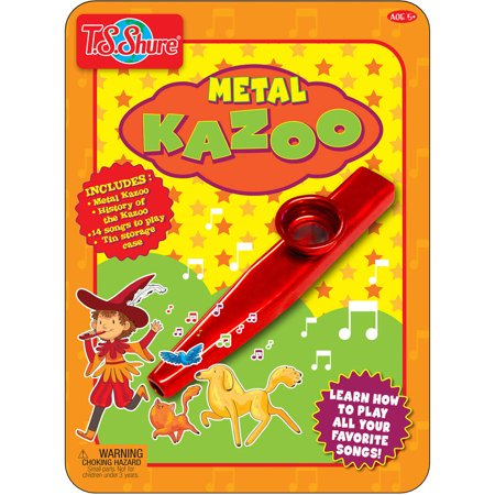 T.S. Shure Kazoo Music Tin (Kazoo Toys)