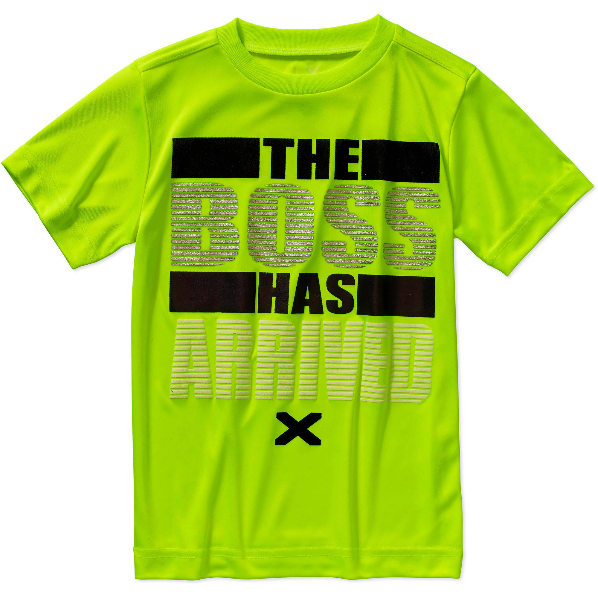 """Live Xtreme Boys' """"The Boss Has Arrived"""" Graphic Active Tee"""