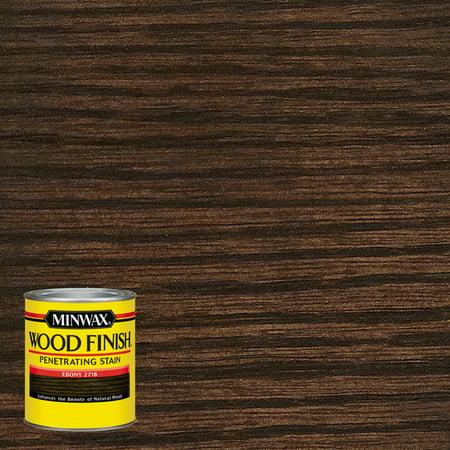 Minwax Wood Finish Penetrating Stain, Ebony,