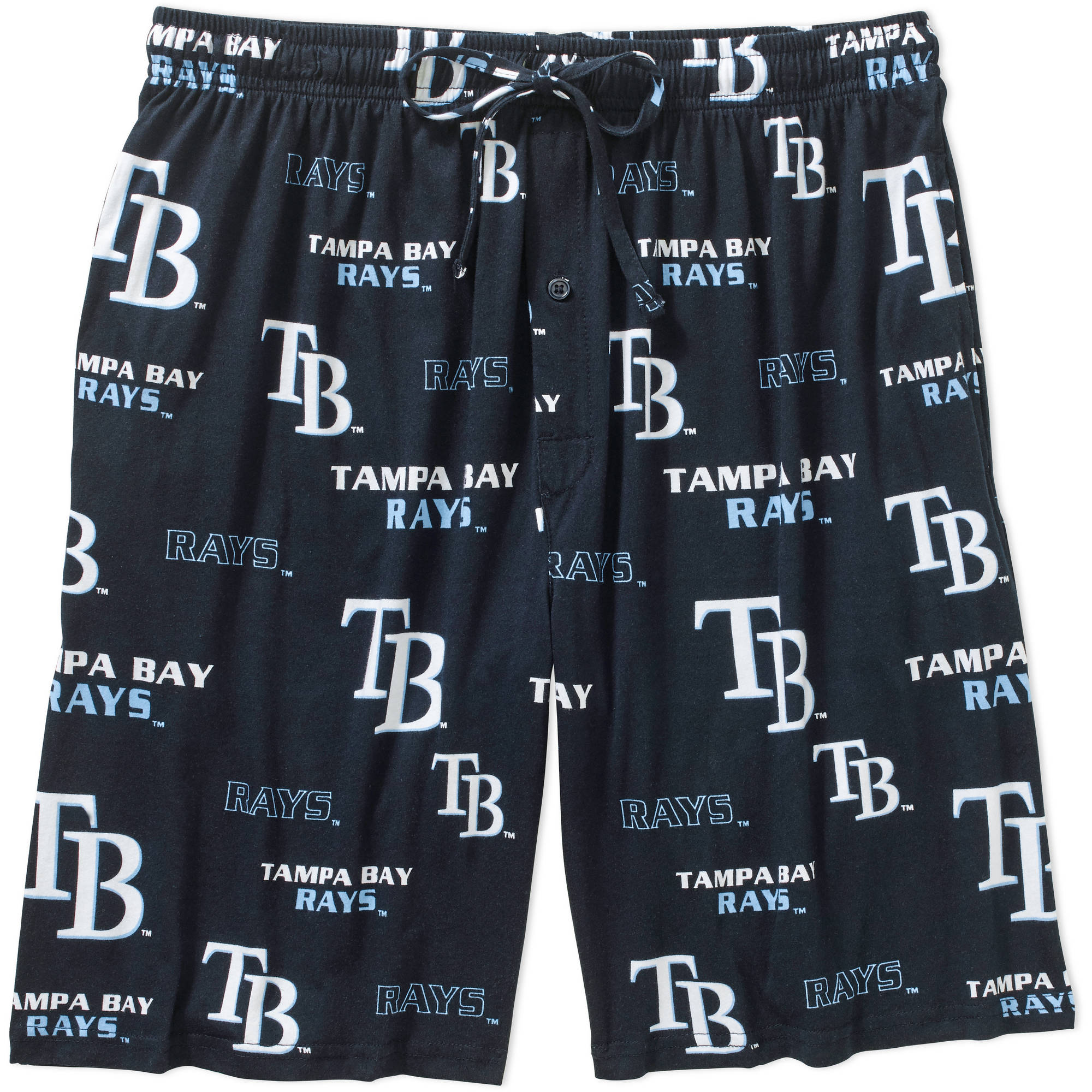 MLB Men's Tampa Bay Rays Knit Jam Shorts WQM-0631