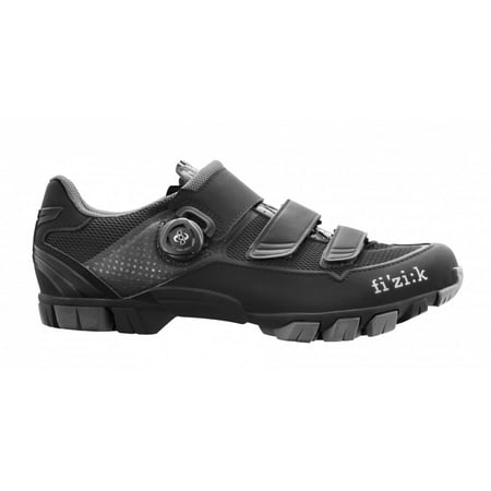 M6B - Men's MTB Shoe w/ BOA - Black/Black Size 42