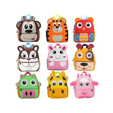 fccae78e69 3D Cartoon Animal Backpack For Boys Children backpacks kids kindergarten  Small SchoolBag Girls Cute