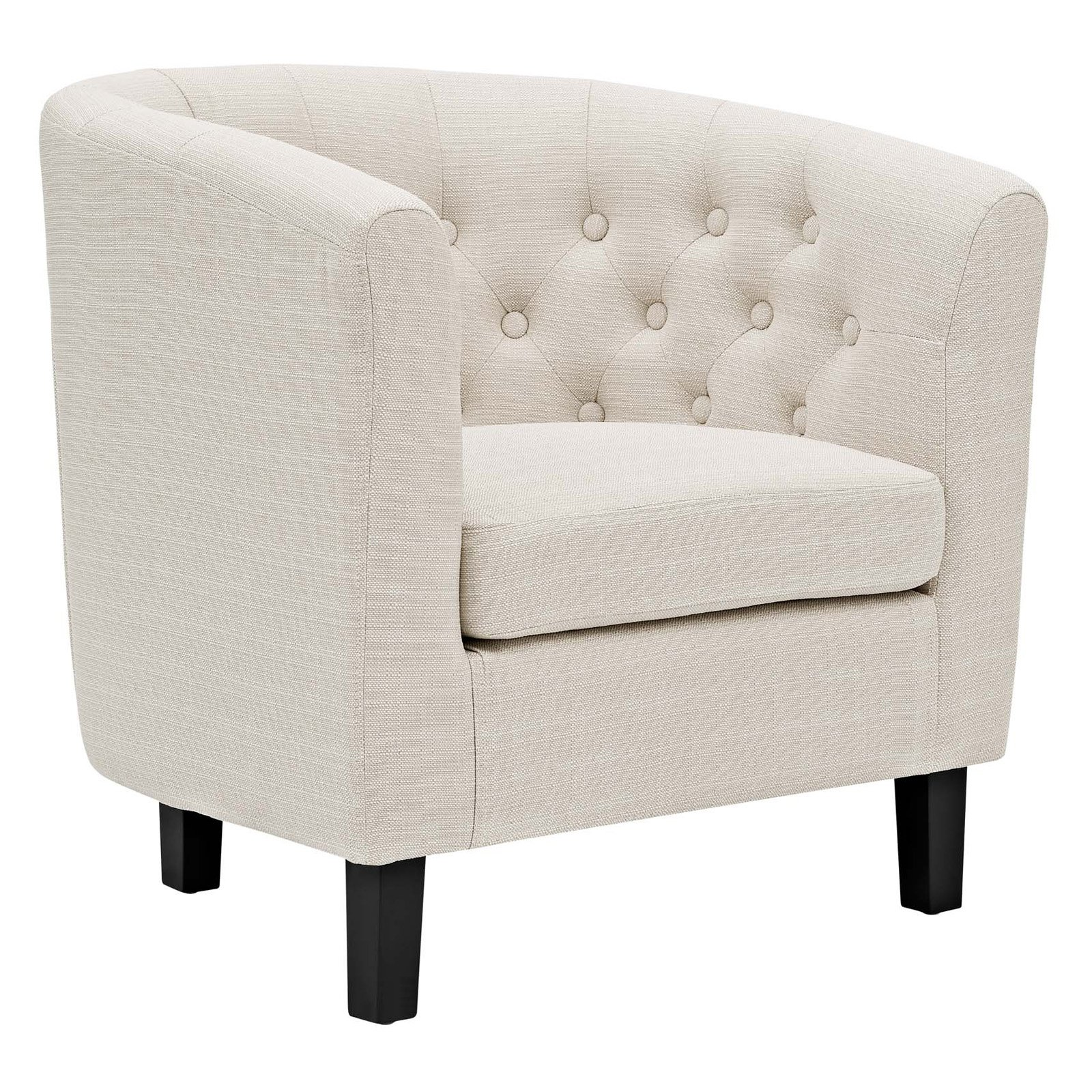 Modway Prospect Upholstered Armchair, Multiple Colors by Modway