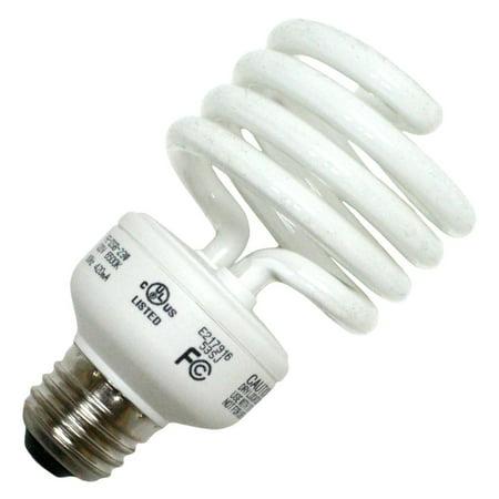LongStar 00135 - FE-IISB-23W/65K Twist Medium Screw Base Compact Fluorescent Light Bulb 2 Base Compact Fluorescent Holder