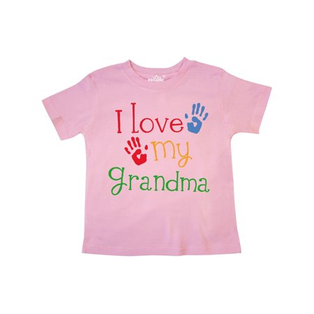 I Love My Grandma Toddler T-Shirt