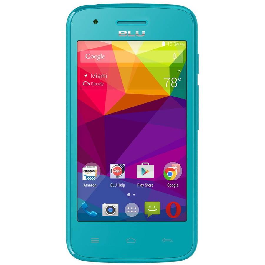 BLU DASH J D070X GSM Smartphone (Unlocked), Blue