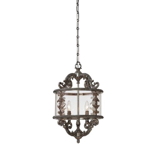 Savoy House 3-2501-4-176 Athena Four-Light Foyer Pendant from the Entry Lanterns