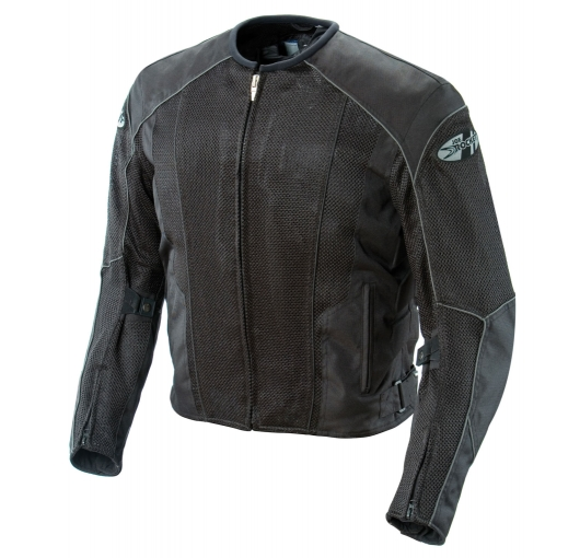 Joe Rocket Phoenix 5.0 Mens Black Mesh Motorcycle Jacket