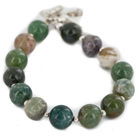 Certified Authentic Nickel Navajo Natural Green Jasper Native American