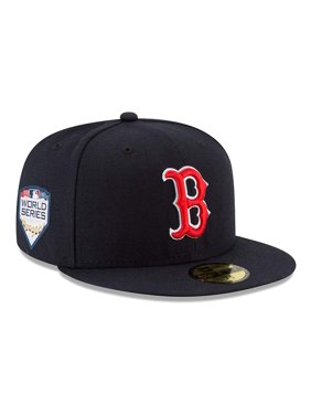 wholesale dealer 77e4c ec6ea Product Image Boston Red Sox New Era Home 2018 World Series Bound Side  Patch 59FIFTY Fitted Hat -