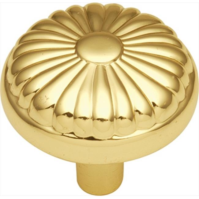 Hickory Hardware P211-UB 1. 25 inch Eclipse Ultra Brass Cabinet Knob