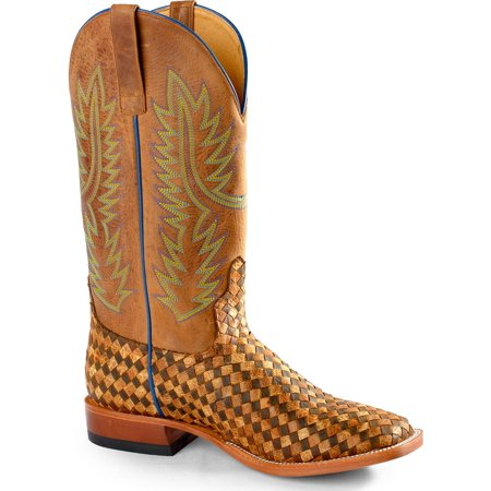 Horse Power Mens Unbeweavable Western Boot Square Toe   Hp1758 Move
