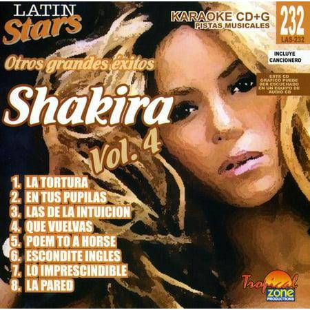 Karaoke  Shakira   Latin Stars Karaoke