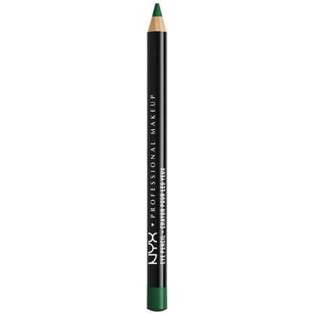 3 Pack - NYX Professional Makeup Slim Eye Liner Pencil, [911] Emerald City 1 ea (Eyeliner Makeup For Halloween)