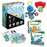 Baby Einstein Ocean Discovery Box 6 Piece Set, Ages Newborn +