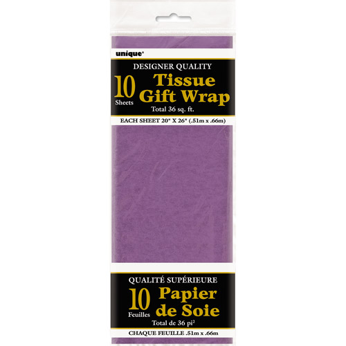 Purple Tissue Paper Sheets, 10pk