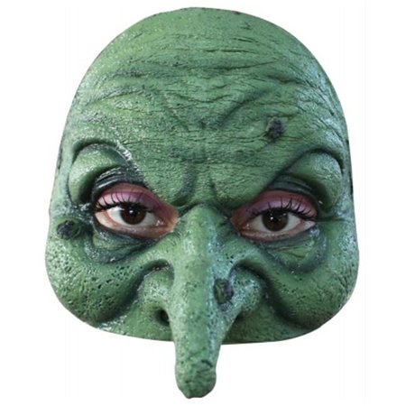 Costumes For All Occasions Ta493 Half Witch Mask