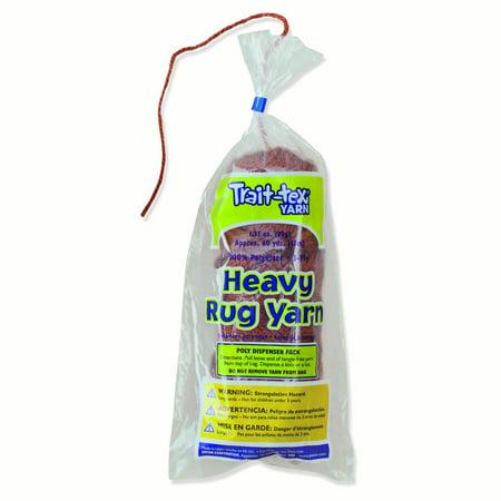 Pacon® Trait-tex® Heavy Rug Yarn, Brown - 60 yards per pack, 6 packs