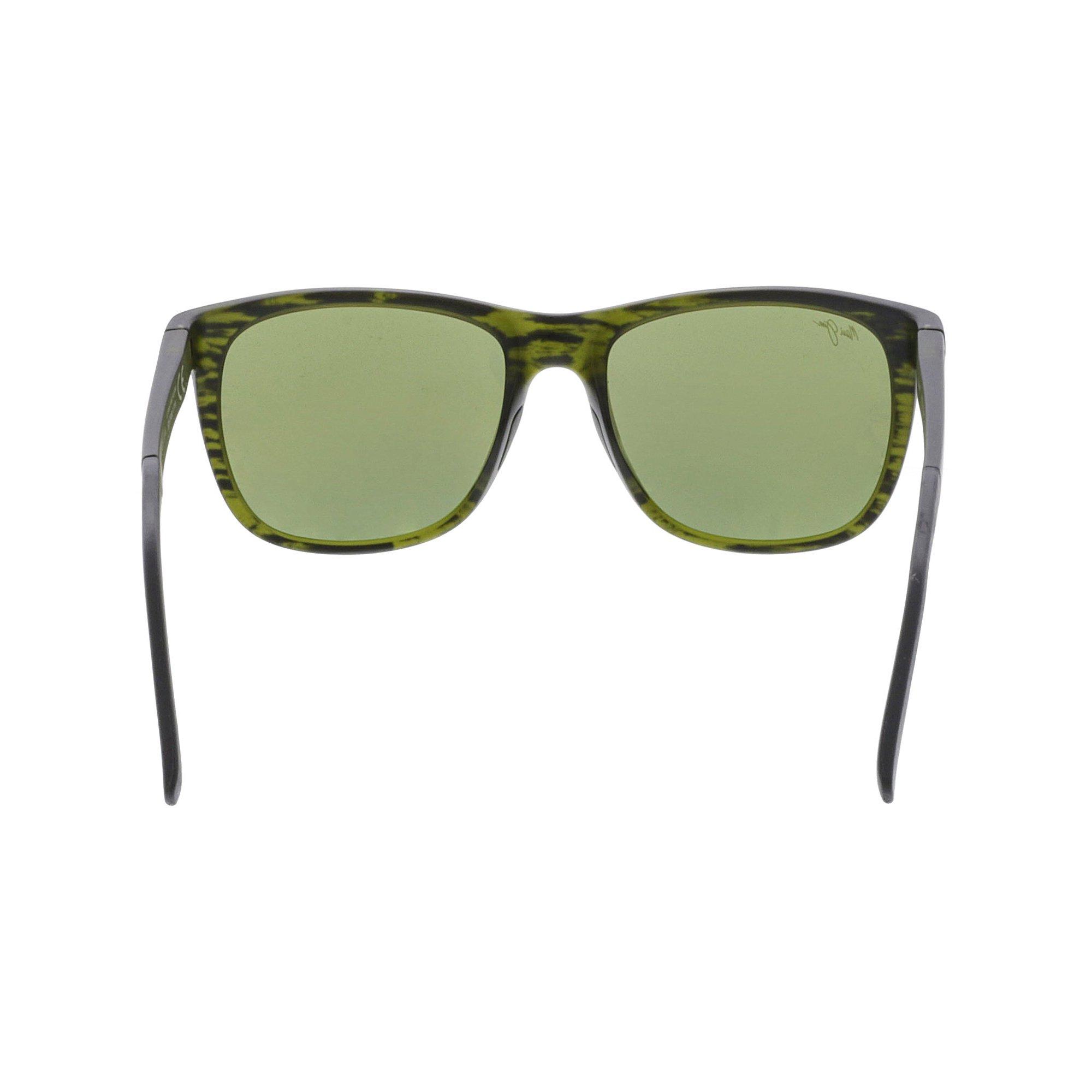 1f5b5353b1 Maui Jim Polarized Tail Slide HT740-15CM Green Square Sunglasses   Walmart  Canada