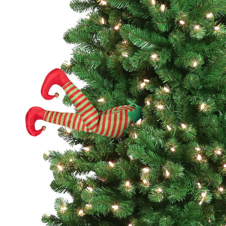Mr. Christmas Animated Elf Kickers Christmas Decoration, 16 in ()